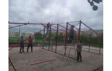 Скоро в Низино появится новый спортивный объект