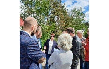 Встреча руководства Низинского сельского поселения с жителями д. Владимировка